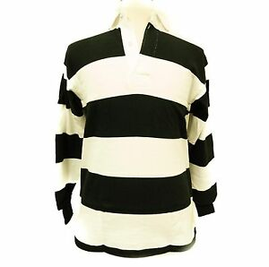Barbarian Rugby Wear 100% Pre Shrunk Cotton Striped Shirt Union Sports Gear T20