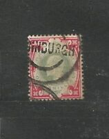 Great Britain King Edward VII One Shilling Old Stamps  Briefmarken Sellos