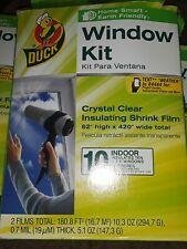 Indoor 10-window Shrink Film Insulator Kit Duck