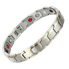 Magnetic Bracelet women 4 elements Balance Arthritis Pain Relief Stress Energy