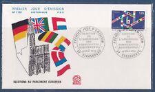 FDC France 1979 élection au parlement Européen Strasbourg