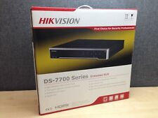 *NEW* Hikvision DS-7708NI-I4/8P, 8 Channel NVR with POE, Cameras 4K, Recording
