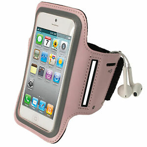 Pink Anti-Slip Sport Jogging Armband for New Apple iPhone 5 5S 5C Mobile 4G LTE