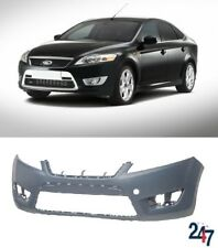 NEW FORD MONDEO 07-10 FRONT BUMPER WITHOUT HEADLIGHT WASHER HOLES PRIMED