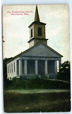Doylestown Ohio OH Presbyterian Church Chapel Vintage Postcard D14