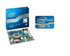 intel i5 3450 s quad core cpu dh61ww micro atx motherboard combo kit