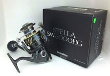 Shimano Stella SW 6000HG SPINNING REEL FREE 2-5 DAYS DELIVERY