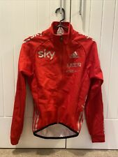 Adidas Team GB SKY EX-PRO Long sleeved cycling Wind Proof SoftShell Jacket Small