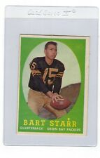 1958 Topps Bart Starr Green Bay Packers #66 Football Trading Card