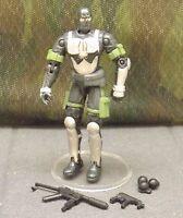 GI JOE vs Cobra Firefly v6 saboteur 2003 action figure mission disk weapons