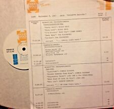 RADIO SHOW: 9/22/87 MGM RECORDS! LOU CHRISTIE, ANIMALS,MARK DINNING,SAM THE SHAM