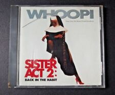 SISTER ACT 2 BACK IN THE HABIT CD ORIGINAL MOVIE SOUNDTRACK WHOOPI GOLDBERG