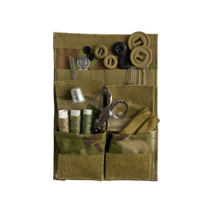 Web-tex VCAM / MTP handy travel compact army military sewing kit / housewife