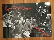 Counting Crows August And Everything After rare original promotional poster