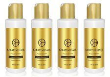 Keratin For Hair Intense Complex Damaged Dry Frizzy Coarse Curly 4 oz 4 PC Kit