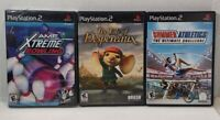 PS2 Game Lot - Summer Athletics - Tale of Despereaux - AMF Xtreme Bowling