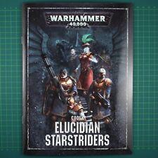 Elucidian Starstriders Rogue Trader Regelbuch EN Warhammer 40K 11551