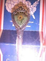 Vintage Souvenir Spoon KANSAS, THE SUNFLOWER STATE, COLLECTIBLE