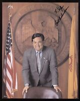 Bill Richardson Signed 8x10 Photo New Mexico Governor Autographed