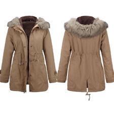 Cappotti e giacche da donna parke casual marrone