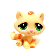 Littlest Pet Shop LPS Loose Figure Animals Orange Tabby Cat