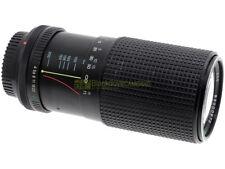 Canon FD Zoom Tokina 80/200mm. f4. Utilizzabile su digitali, tramite adattatore.