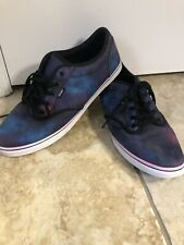 Vans Galaxy Cosmic Outer Space Canvas Lace Up Sneakers Shoes Sz 11 womens