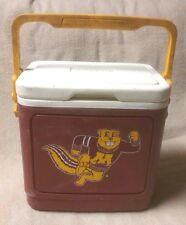 "University of Minnesota GOLDEN GOPHERS Igloo Cooler Maroon White 1992 10x10 x8"""