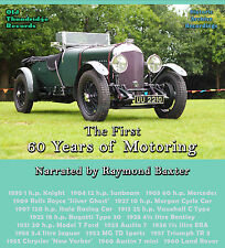 First 60 Years of Motoring - Raymond Baxter CD Sounds Cars Racing MG Triumph ERA