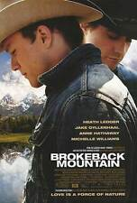 Brokeback Mountain Dbl Sided Orig Movie Poster 27x40