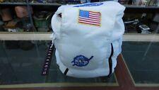 Astronaut Costume NASA White Suit, Cap, Boots, Helmet, Backpack