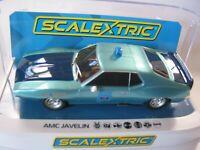 SCALEXTRIC C4058 AMC JAVELIN ALABAMA POLICE CAR BNIB DPR
