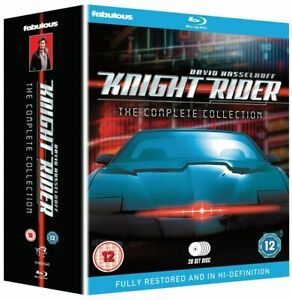 KNIGHT RIDER COMPLETE SERIES COLLECTION 1-4 BLU RAY 20 DISC SET David Hasselhoff