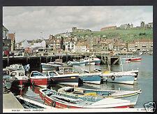 Yorkshire Postcard - Whitby Inner Harbour   Q336