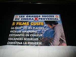 """COFFRET 2 DVD """"5 FILMS : LA PROF OU LES PLAISIRS / V. AMANDINE / ESTIVANTES EN C"""
