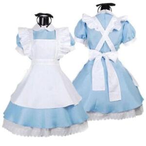 Women Girls Adult Anime Women Sissy Maid Fancy Dress Lolita Cosplay Party -P Gt