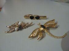 Damen Anstecknadeln Broschen Modeschmuck vergoldet (( NEUWERTIG ))