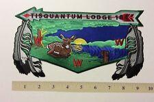 Tisquantum Lodge #164  Back Flap ... J-12