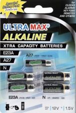 ULTRA MAX Assorted 5 X Battery Pack 1 x A27, 1 x E23a, 1 x N, 2 x LR44, 0% HG UK