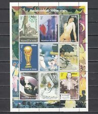 Guinea, 1998 issue. 20th Century Events sheet of 9. Soccer, Chess, Nude shown.
