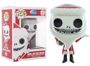 Funko Pop Disney The Nightmare Before Christmas: Santa Jack Skellington #3289