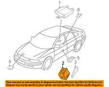 AUDI OEM 02-09 A4 Quattro Anti-Theft Alarm System-Siren 8L0951605A