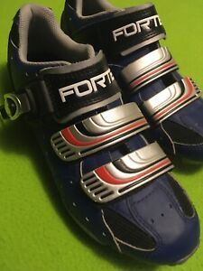 Forte B 09 Cycling Shoes  Women's Blue Euro 39 / US 6.5 Mountain Road New