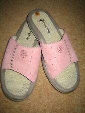 Timberland Ladies Pink Nubuck Leather Slip-on Sandals UK 6.5  - 9M used