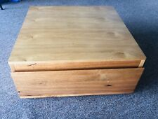 Wooden Box storage good condition