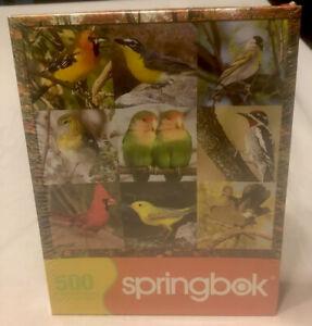 "Springbok Puzzle 500 pieces ""Songbird Symphony"" 20"" x 20"""