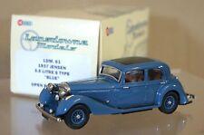 LANSDOWNE MODELS LDM61 1937 JENSEN 3.5 LITRE S TYPE SEDAN BLUE MINT BOXED mx