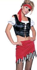 Costume Pirate grande pour nuits de poule + parties 5 piece M