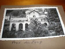 Old Photo Grand Hotel Pont Du Joop France 1936