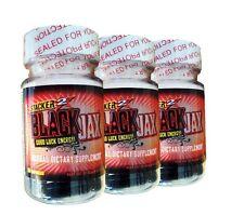 9 Bottles Black Jacks from Stacker 2  Longest Lasting Energy Dietary Supplement